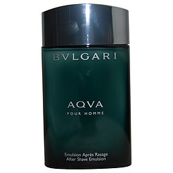 BVLGARI AQUA by Bvlgari AFTERSHAVE EMULSION 3.4 OZ *TESTER for MEN