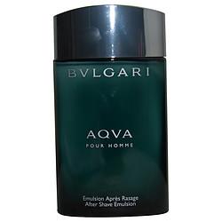 BVLGARI AQUA by Bvlgari AFTERSHAVE EMULSION 3.4 OZ *TESTER for MEN