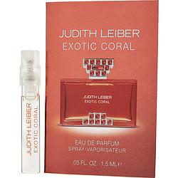 Judith Leiber Exotic Coral By Judith Leiber Eau De Parfum Spray Vial On Card For Women