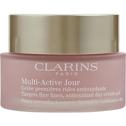 Clarins by Clarins Multi-Active Jour Target Fine Lines Antioxidant Day Cream – Gel ( Normal to Combination Skin ) -|1.7OZ for WOMEN