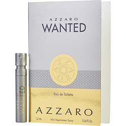 AZZARO WANTED by Azzaro EDT SPRAY VIAL ON CARD for MEN