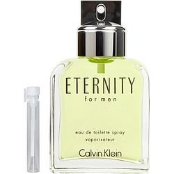 ETERNITY by Calvin Klein EDT .04 OZ VIAL for MEN