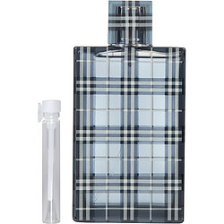 BURBERRY BRIT by Burberry EDT .04 OZ VIAL for MEN