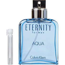 ETERNITY AQUA by Calvin Klein EDT .04 OZ VIAL for MEN