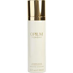 OPIUM by Yves Saint Laurent DEODORANT SPRAY 3.3 OZ (CAN BOTTLE) for WOMEN