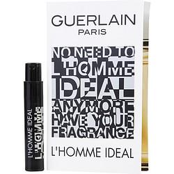 GUERLAIN L'HOMME IDEAL by Guerlain EDT SPRAY VIAL ON CARD for MEN