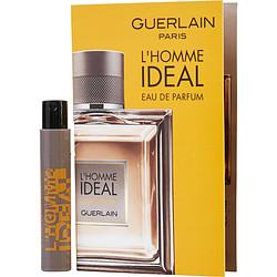 GUERLAIN L'HOMME IDEAL by Guerlain EDP SPRAY VIAL ON CARD for MEN