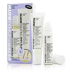 Peter Thomas Roth by Peter Thomas Roth Bye Bye Hair! Kit: Facial Hair Removal Cream 15ml + Facial Hair Reducing Serum 15ml -2x15ml/0.5oz for WOMEN 292117