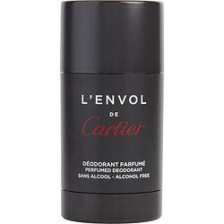 CARTIER L'ENVOL by Cartier DEODORANT STICK ALCOHOL FREE 2.5 OZ for MEN