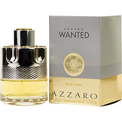 AZZARO WANTED by Azzaro EDT SPRAY 1.7 OZ for MEN