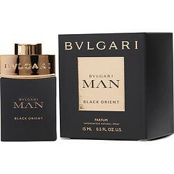 BVLGARI MAN BLACK ORIENT PARFUM SPRAY .5 OZ for MEN