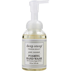 DEEP STEEP by Deep Steep PURE COCONUT ORGANIC FOAMING HAND WASH 8 OZ for UNISEX