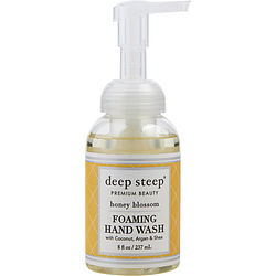 DEEP STEEP by Deep Steep HONEY BLOSSOM ORGANIC FOAMING HAND WASH 8 OZ for UNISEX