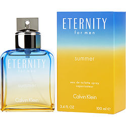 ETERNITY SUMMER by Calvin Klein EDT SPRAY 3.4 OZ (EDITION 2017) for MEN