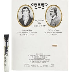CREED CHEVREFEUILLE by Creed EDT VIAL ON CARD for UNISEX
