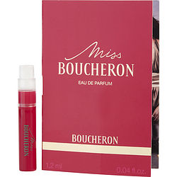MISS BOUCHERON by Boucheron EDP SPRAY VIAL ON CARD for WOMEN