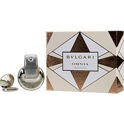 BVLGARI OMNIA CRYSTALLINE by Bvlgari SET-EDT SPRAY 2.2 OZ & SOLID PERFUME .03 OZ for WOMEN