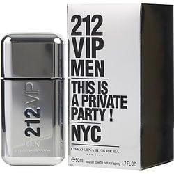 212 Vip By Carolina Herrera Edt Spray 1.7 Oz (New Packaging) For Men