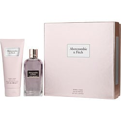 ABERCROMBIE & FITCH FIRST INSTINCT by Abercrombie & Fitch SET-EDP SPRAY 3.4 OZ & BODY LOTION 6.7 OZ for WOMEN