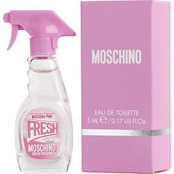 MOSCHINO PINK FRESH COUTURE by Moschino EDT 0.17 OZ MINI for WOMEN