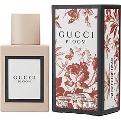 GUCCI BLOOM by Gucci EAU DE PARFUM SPRAY 1 OZ for WOMEN Launched by the design house of Gucci in 2017, GUCCI BLOOM by Gucci for WOMEN posesses a blend of: Jasmine, Rangoon Creeper, Tuberose It is recommended for wear.