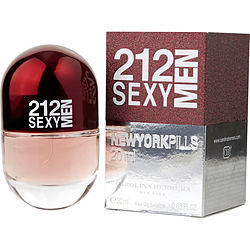 212 SEXY by Carolina Herrera EDT SPRAY .68 OZ (PILLS EDITION) for MEN