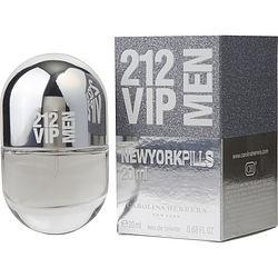 212 Vip By Carolina Herrera Edt Spray .68 Oz (Pills Edition) For Men