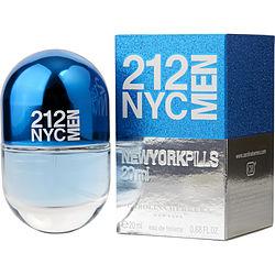 212 by Carolina Herrera EDT SPRAY .68 OZ (PILLS EDITION) for MEN