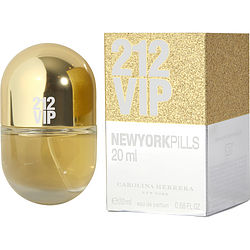 212 VIP by Carolina Herrera EDP SPRAY .68 OZ (PILLS EDITION) for WOMEN