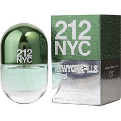 212 by Carolina Herrera EDT SPRAY .68 OZ (PILLS EDITION) for WOMEN