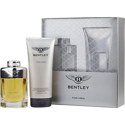 BENTLEY FOR MEN by Bentley SET-EDT SPRAY 3.4 OZ & HAIR AND SHOWER GEL 6.7 OZ for MEN 300843