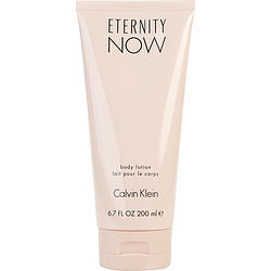 ETERNITY NOW by Calvin Klein BODY LOTION 6.7 OZ for WOMEN