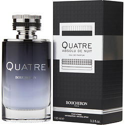BOUCHERON QUATRE ABSOLU DE NUIT by Boucheron EDP SPRAY 3.3 OZ for MEN