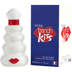 SAMBA FRENCH KISS by Perfumers Workshop EDT SPRAY 1.7 OZ for WOMEN