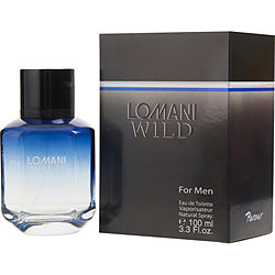 Lomani Wild By Lomani Edt Spray 3.3 Oz For Men