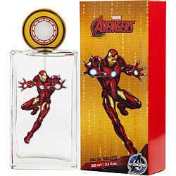 IRON MAN by Marvel EDT SPRAY 3.4 OZ (AVENGERS NEW PACKAGING) for MEN 308358