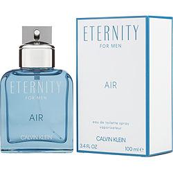 ETERNITY AIR by Calvin Klein EDT SPRAY 3.4 OZ for MEN