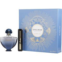 SHALIMAR SOUFFLE DE PARFUM by Guerlain SET-EDP SPRAY 1.6 OZ & MAXI LASH SO VOLUME MASCARA .28 OZ for WOMEN
