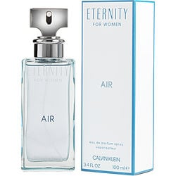 ETERNITY AIR by Calvin Klein EDP SPRAY 3.4 OZ for WOMEN