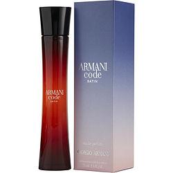 d2761ce56fe52 ARMANI CODE SATIN by Giorgio Armani EAU DE PARFUM SPRAY 2.5 OZ  TESTER for  WOMEN