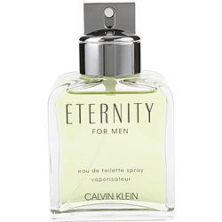 ETERNITY by Calvin Klein EDT SPRAY 3.4 OZ *TESTER for MEN