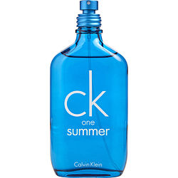 CK ONE SUMMER by Calvin Klein EDT SPRAY 3.4 OZ (LIMITED EDITION 2018) *TESTER for UNISEX