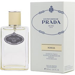 PRADA LES INFUSIONS MIMOSA by Prada EAU DE PARFUM SPRAY 3.4 OZ for WOMEN Launched by the design house of Prada in, PRADA LES INFUSIONS MIMOSA by Prada for WOMEN posesses a blend of: It is recommended for wear.