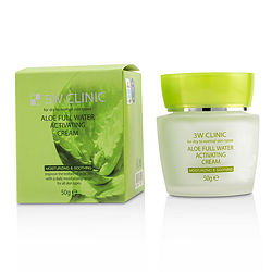 3W Clinic By 3W Clinic Aloe Full Water Activating Cream – For Dry To Normal Skin Types -/1.7Oz For Women