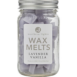 LAVENDER VANILLA SCENTED SIMMERING FRAGRANCE CHIPS - 8 OZ JAR CONTAINING 100 MELTS for UNISEX