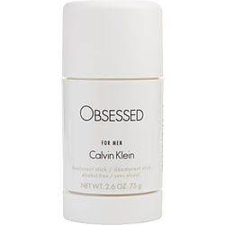 OBSESSED by Calvin Klein DEODORANT STICK ALCOHOL FREE 2.6 OZ for MEN