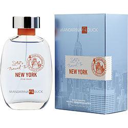 Mandarina Duck Let'S Travel To New York By Mandarina Duck Edt Spray 3.4 Oz For Men