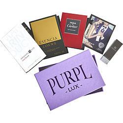 PURPL LUX SUBSCRIPTION BOX FOR MEN - $MANDARINA DUCK COOL BLACK - $MERCEDES-BENZ - $PASHA DE CARTIER EDITION NOIRE - $VINCE CAMUTO MAN - $ESENCIA DE LOEWE for MEN