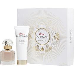 MON GUERLAIN by Guerlain SET-EDP SPRAY 1 OZ & BODY LOTION 2.5 OZ for WOMEN