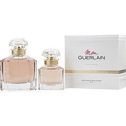 MON GUERLAIN by Guerlain SET-EDP SPRAY 3.4 OZ & EDP SPRAY 1 OZ for WOMEN